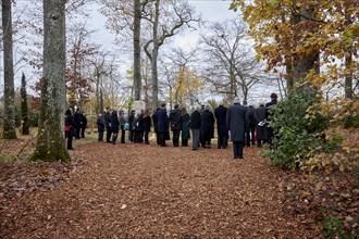 Obsèques du Président Valéry Giscard d'Estaing, Authon (Loir-et-Cher), le 5 décembre 2020