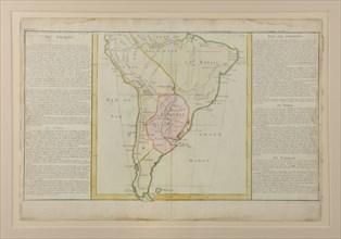 Carte du Pérou ayant appartenu à Bonaparte