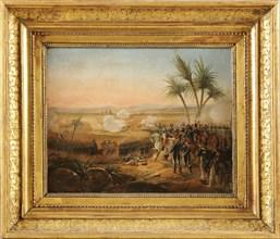 La Bataille des Pyramides. Le 21 juillet 1798
