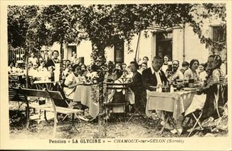 Chamoux-Sur-Gelon, pension La Glycine