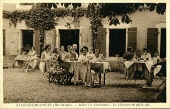 Allinges, Hôtel des Châteaux