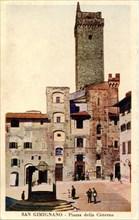 Italie-San-Gimignano