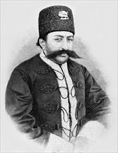 Le nouveau shah de Perse, Mozaffer-Eddin Mirza, 1896