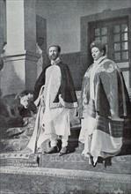 Le prinde Tafari, héritier et régent du trône d'Ethiopie, 1924