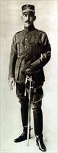 Première Guerre Mondiale. Le roi Constantin de Grèce
