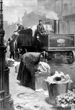 L'enlèvement des ordures à Londres (1901)