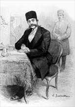 Portrait de Mozaffer-ed-Dîn, Shah de Perse (1900)