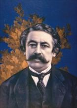 """Portrait d'Aristide Briand, in """"Le pays de France"""" du 20 avril 1916."""