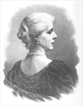 Portrait de Marie-Henriette-Anne, reine des belges (1836-1902)
