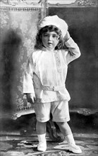 Portrait d'Alexis Nicolaiévitch (fils du tsar Nicolas II), en 1907