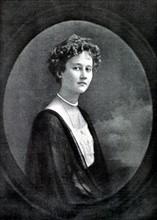 Portrait de la grande-duchesse Marie-Adélaïde de Luxembourg (1912)