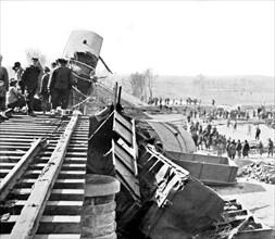 Attentat anarchiste près de Chan-hai-Kouan (Chine) le 8 février 1912