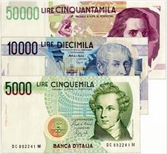 Billets de banque italiens