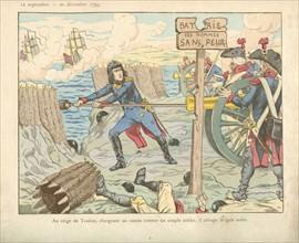 Livre pour enfant : Napoléon Bonaparte au siège de Toulon