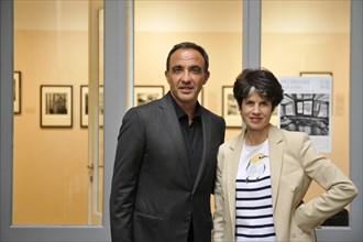 Nikos Aliagas et Valérie-Anne Giscard d'Estaing