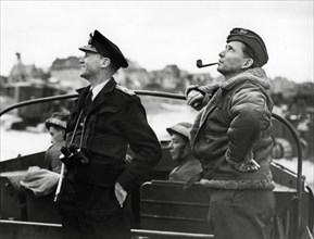 Sir Bertram Ramsay et Sir Arthur Tedder, 1944