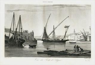 Vue d'Alger vers 1840