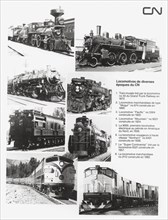 Locomotives du Canadien National, 1982