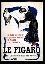 """Bonnard, Affiche publicitaire du journal """"Le Figaro"""""""