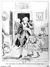 Scène des mémoires de Casanova