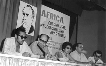 La journée de solidarité avec l'Afrique en mai 1967