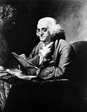 Anonyme, Portrait de Benjamin Franklin