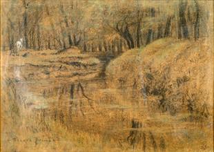 Prins, Cheval blanc dans la forêt