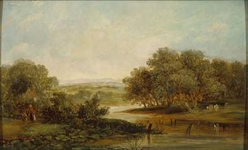 Constable, Paysage à la rivière