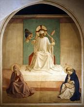 Fra Angelico, La Dérision du Christ avec la Vierge et saint Dominique