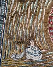 Basilique Sant'Apollinare in Classe à Ravenne, mosaïque de l'abside (détail)