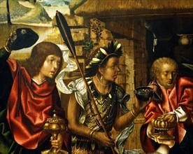 Grao Vasco, L'Adoration des Mages (détail)
