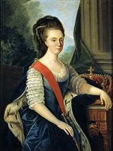Portrait de la Reine Marie 1ère du Portugal