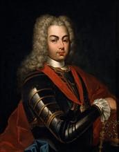 Portrait de Joao V de Braganca, roi du Portugal