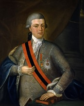 Portrait de Don Joao VI de Braganca, roi du Portugal