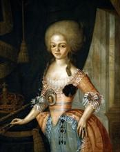 Portrait de Carlota Joaquina de Bourbon