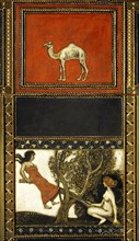 Décoration du Salon de musique de la Villa Stuck à Munich : Chameau et La balançoire