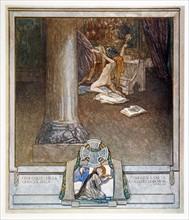 La Divine Comédie, illustrée par Franz von Bayros