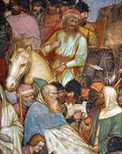 Da Zevio, La Crucifixion (détail)