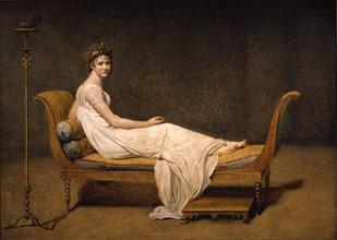 Portrait de Madame récamier, par David
