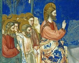Giotto, L'entrée du Christ à Jérusalem (détail)