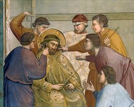 Giotto, La Flagellation. Le Couronnement d'épines. Le Christ aux outrages