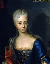 Marie-Thérèse d'Autriche enfant (détail)
