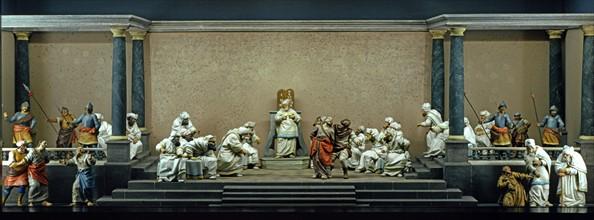 Nissl, Le Christ devant Caïphe