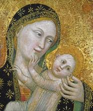 Vierge et l'Enfant (détail)