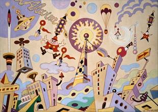 Antonio Rubino, Space Metropolis