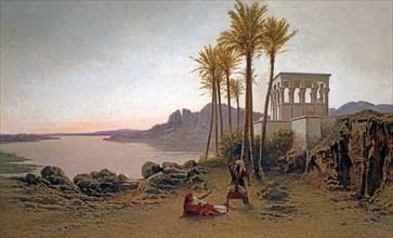 Achille Befani, Scène de l'Aïda de Verdi