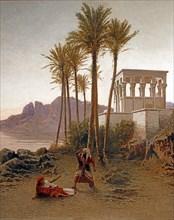 Achille Befani, Scène de l'Aïda de Verdi (détail)