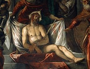 Tintoretto, Ecce Homo (détail)