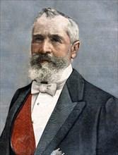 Portrait du président Emile Loubet