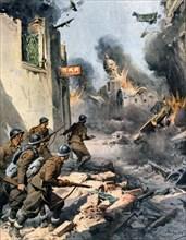 Guerre civile espagnole. La ville de Mungia dynamitée par les Républicains (1937)